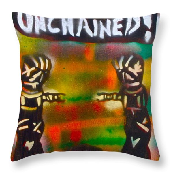 Django Unchained Throw Pillow by TONY B CONSCIOUS
