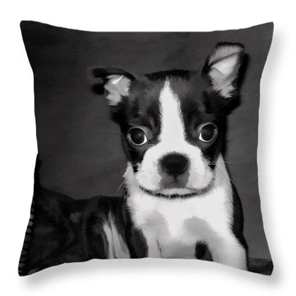 Do You Love Me Throw Pillow by Jordan Blackstone
