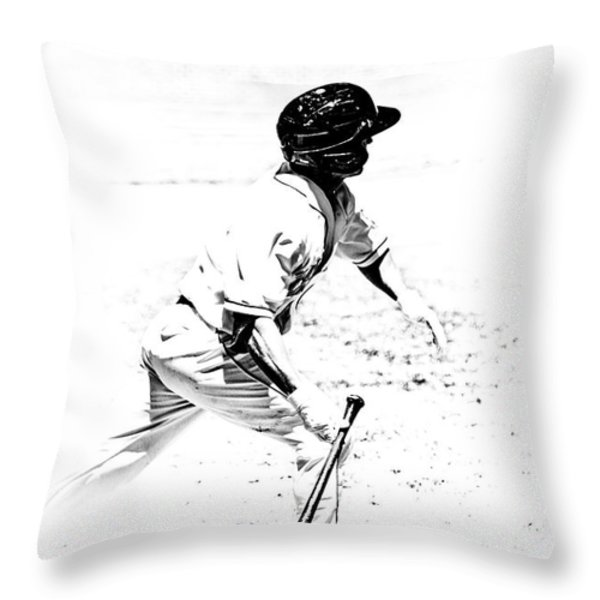 Doing It Throw Pillow by Karol  Livote