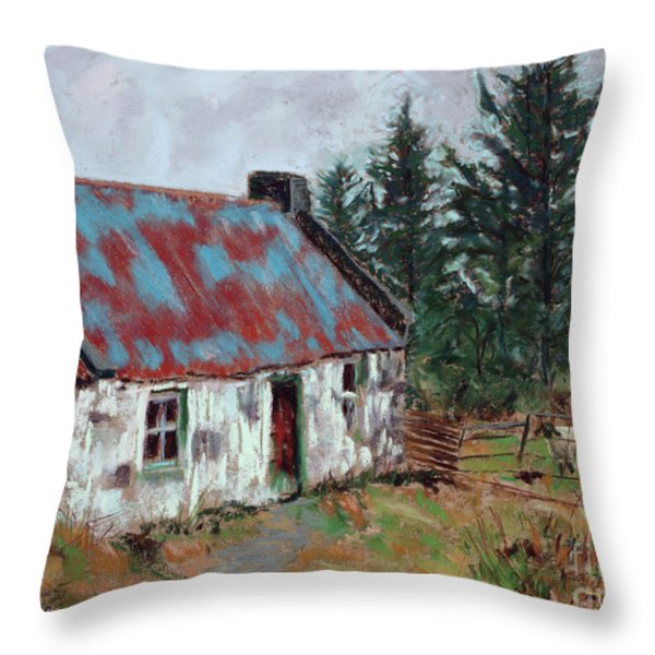 Dooish Hill Donegal Ireland Throw Pillow by Mary Benke