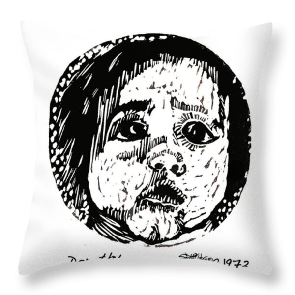Dorothy Throw Pillow by Seth Weaver