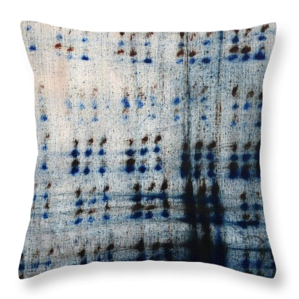 Dot Pattern Abstract Shower Curtain Throw Pillow by Deborah DR Kralich