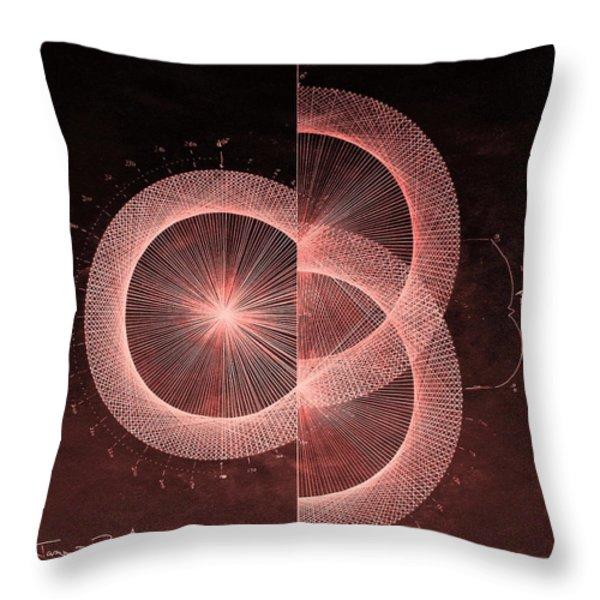 Double Slit Test  Throw Pillow by Jason Padgett