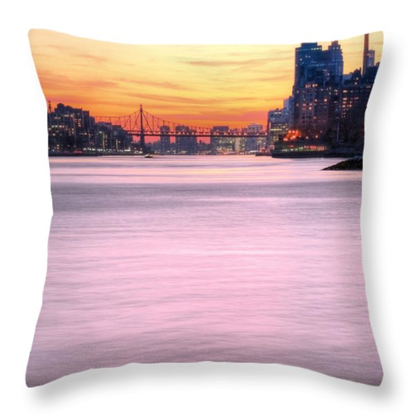 Down River II Throw Pillow by JC Findley
