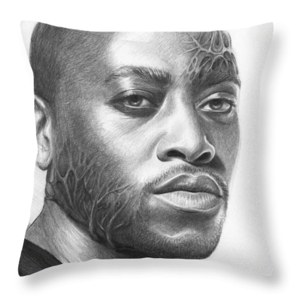 Dr. Foreman - House MD Throw Pillow by Olga Shvartsur