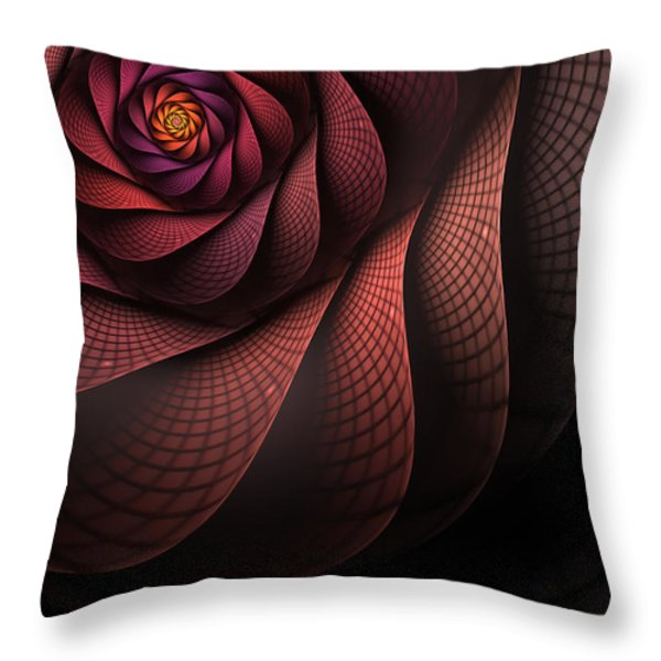 Dragonheart Throw Pillow by John Edwards