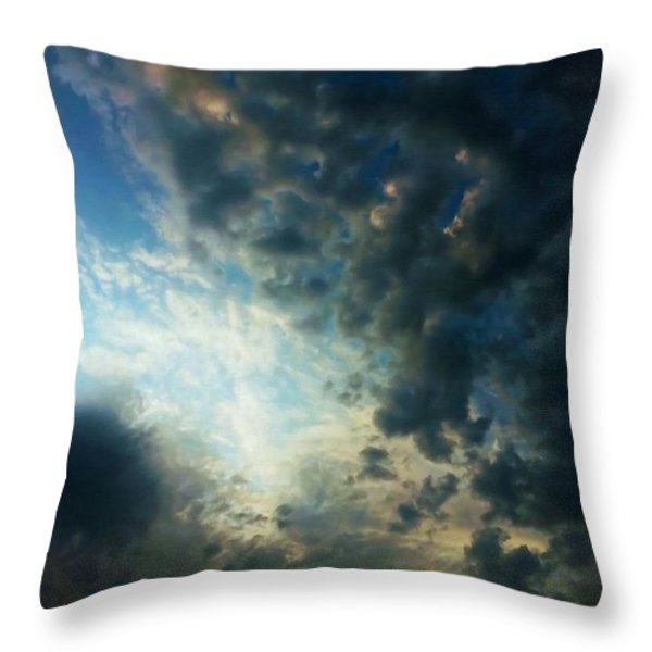 Dramatic Morning Throw Pillow by Dale Jackson