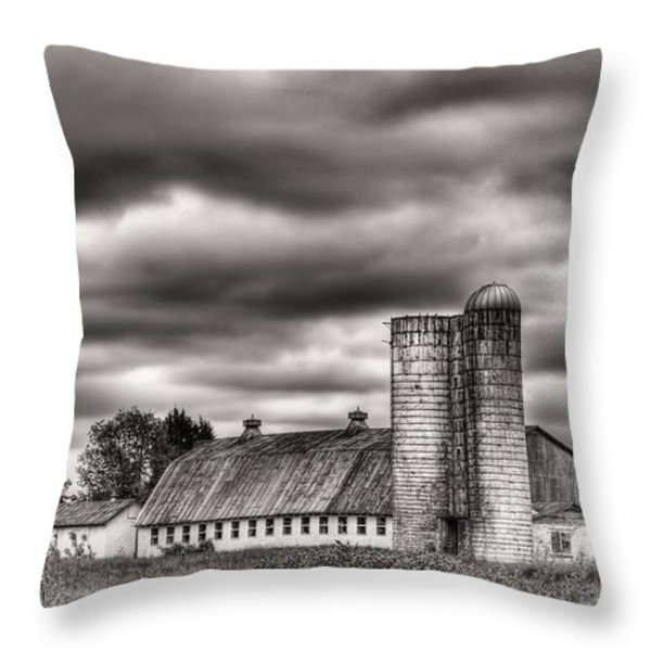 Dramatic Skies  Throw Pillow by JC Findley