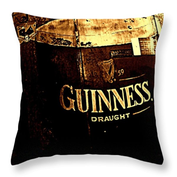 Draught  Throw Pillow by Chris Berry