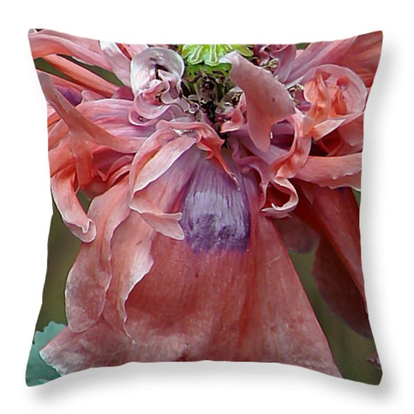 Dream A Little Dream Throw Pillow by Pamela Patch