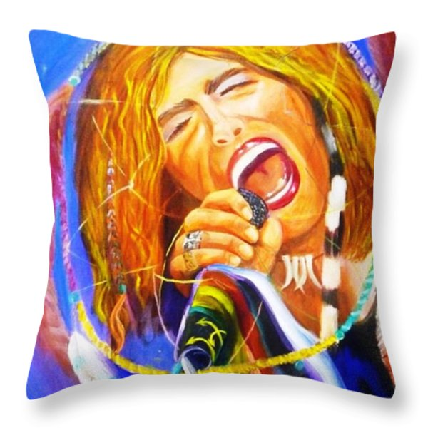 Dream Catcher Throw Pillow by To-Tam Gerwe