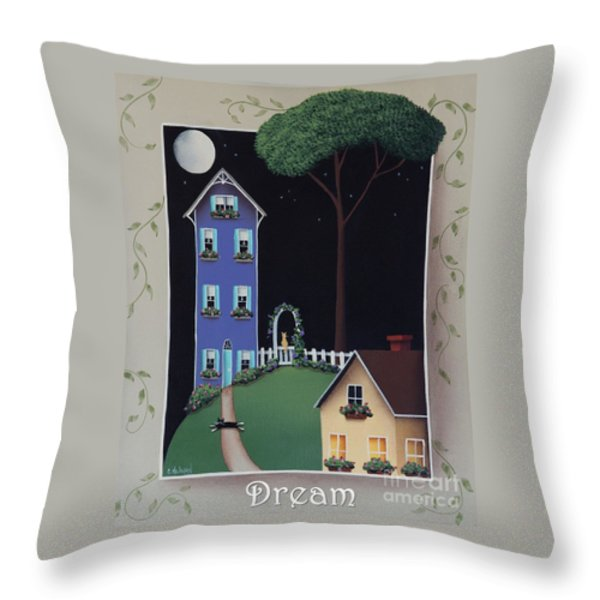 Dream Throw Pillow by Catherine Holman