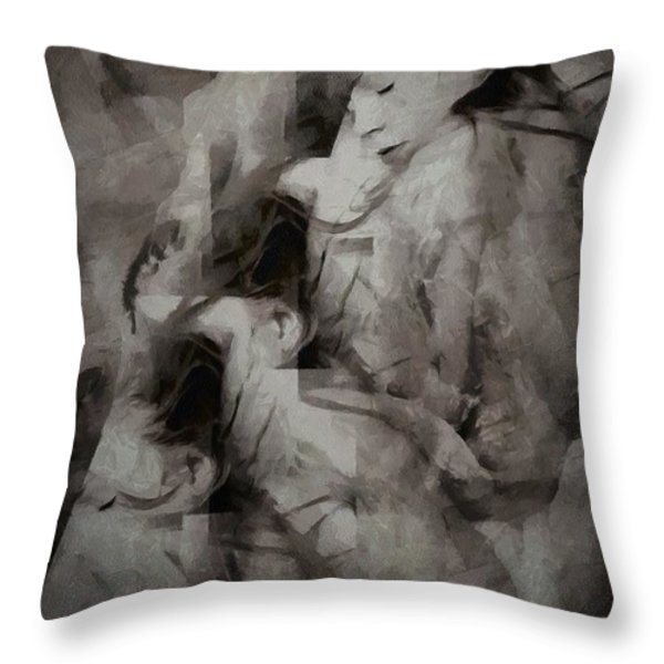 Dream Throw Pillow by Gun Legler