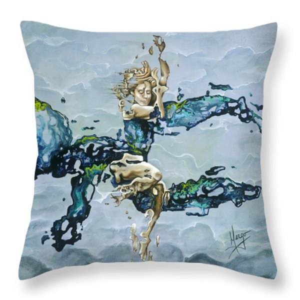 Dream Throw Pillow by Karina Llergo Salto