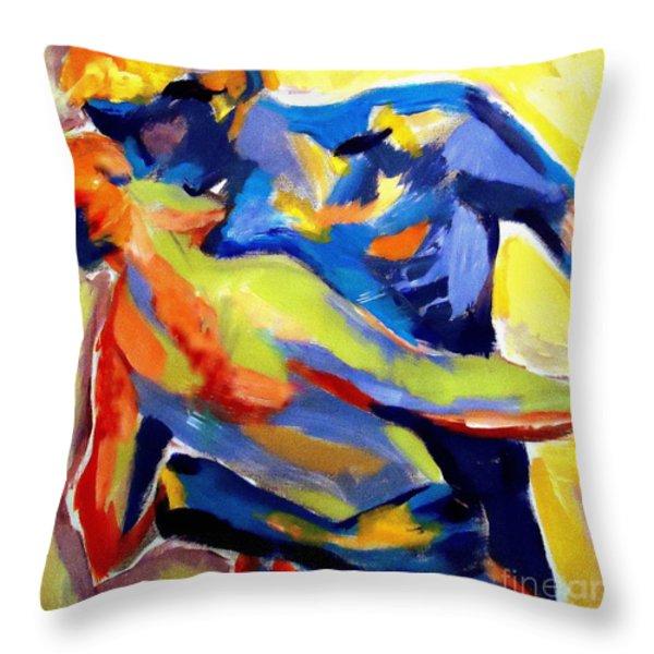 Dream Of Love Throw Pillow by Helena Wierzbicki