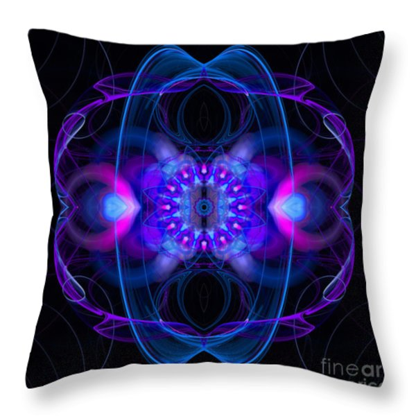 Dream Orbit Throw Pillow by Hanza Turgul