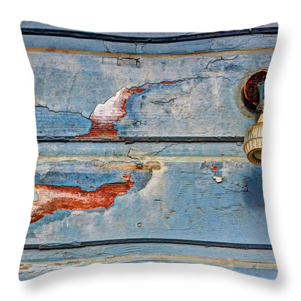 Dream Shower Throw Pillow by Heidi Smith