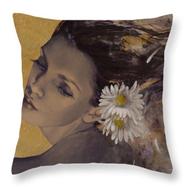 Dream Traveler Throw Pillow by Dorina  Costras
