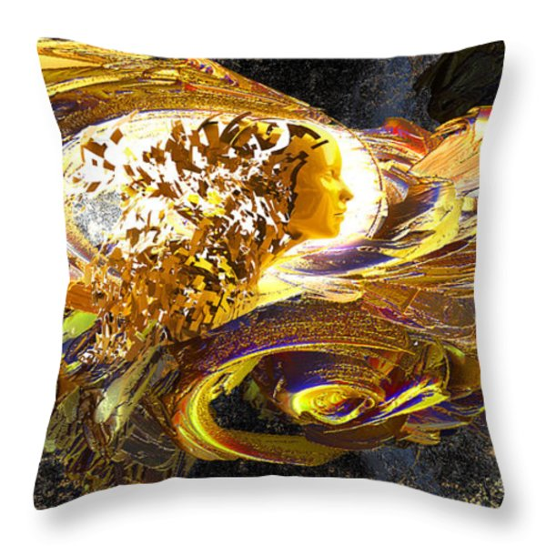Dream Weaver Throw Pillow by Michael Durst