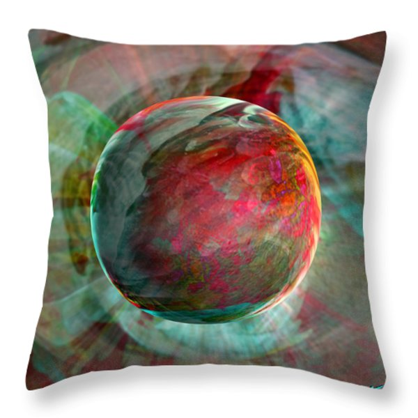 Dream Weaving Throw Pillow by Robin Moline