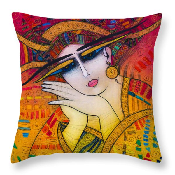 Dreaming Throw Pillow by Albena