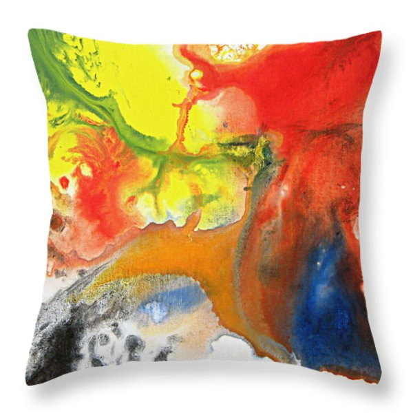 Dreaming Throw Pillow by Kume Bryant