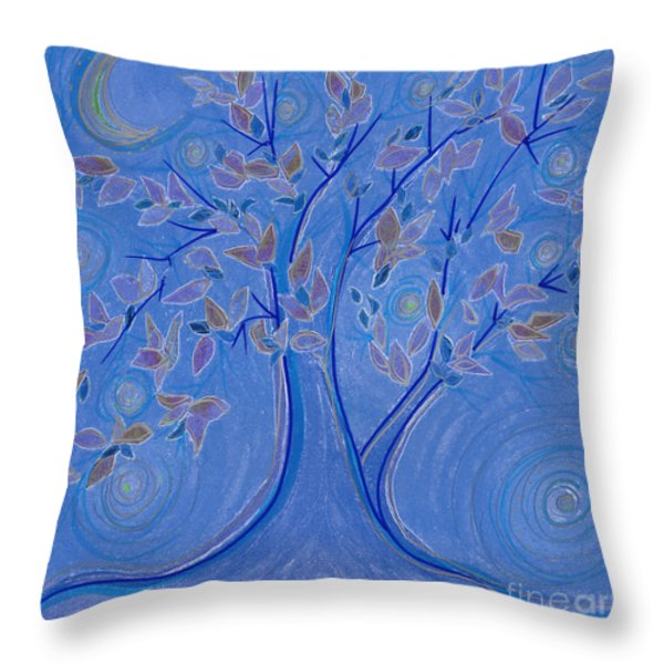 Dreaming Tree By Jrr Throw Pillow by First Star Art