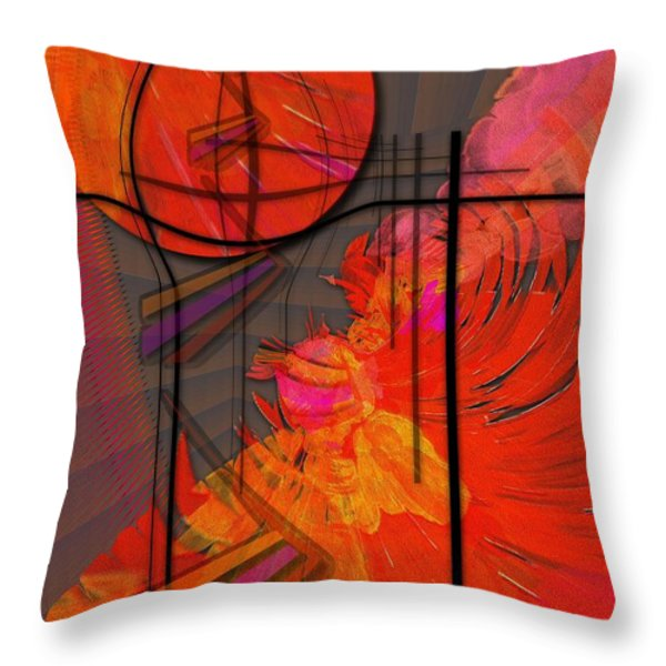 Dreamscape 06 - TANGERINE DREAM Throw Pillow by Mimulux patricia no