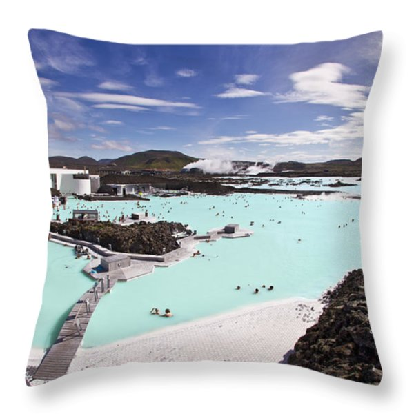 Dreamstate Throw Pillow by Evelina Kremsdorf