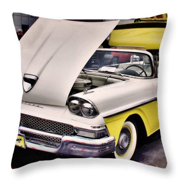 Dreamy Throw Pillow by Thomas  MacPherson Jr
