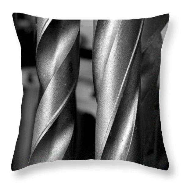 Drills Throw Pillow by Steven Ralser