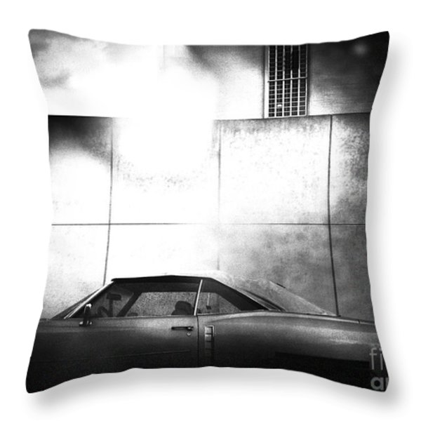 Drive Throw Pillow by Angelo Merluccio