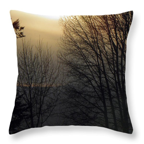 Dusk Throw Pillow by Tonya P Smith