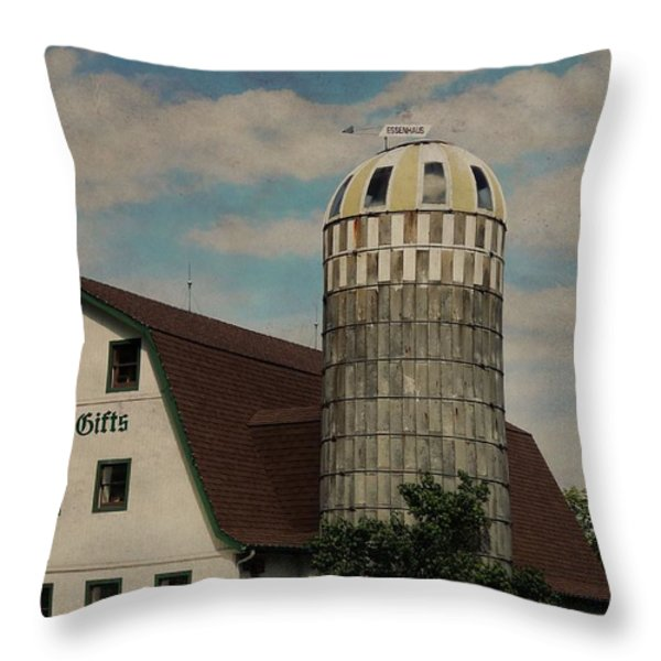 Dutch Country Throw Pillow by Dan Sproul