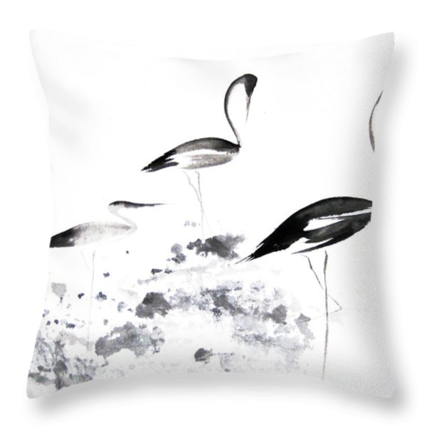 Each Finds Joy In His Own Way Throw Pillow by Oiyee At Oystudio