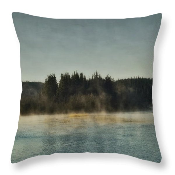 Early Morning Throw Pillow by Priska Wettstein