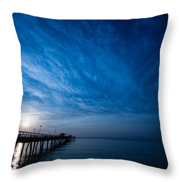 Early Morning Sunrise Throw Pillow by Mike Burgquist