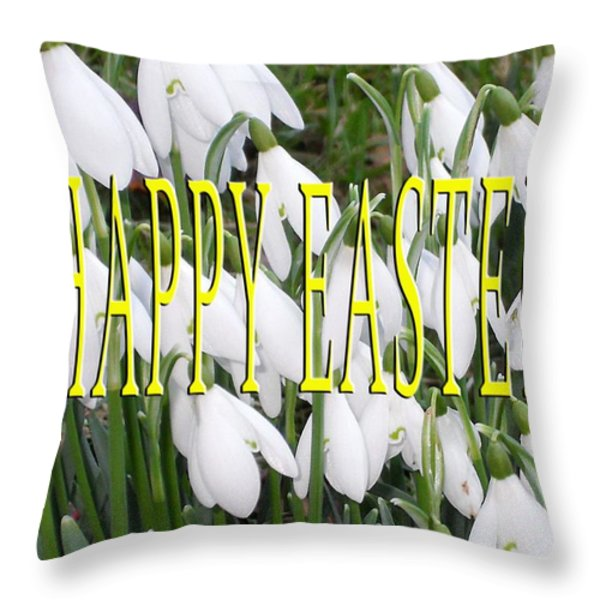 Easter 5 Throw Pillow by Patrick J Murphy