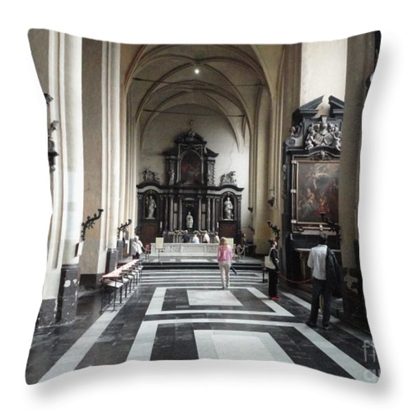 EASTER CELEBRATIONS Throw Pillow by PainterArtist FIN