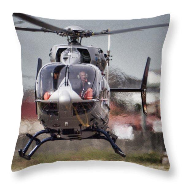 Ec145 Display Throw Pillow by Paul Job