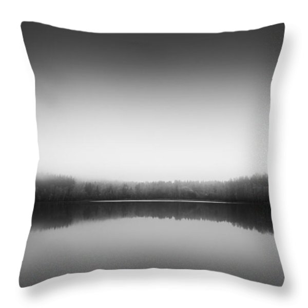 Echoes Throw Pillow by Happy Melvin
