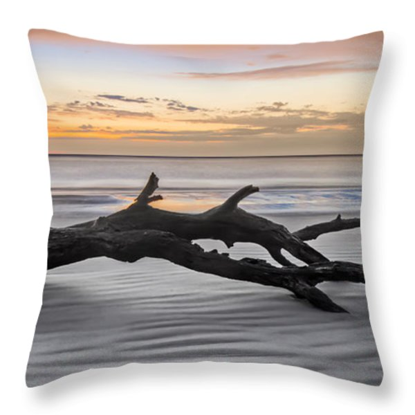 Ecstacy Throw Pillow by Debra and Dave Vanderlaan