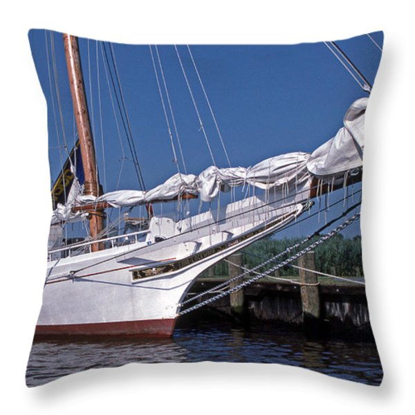 Edna Lockwood Throw Pillow by Skip Willits