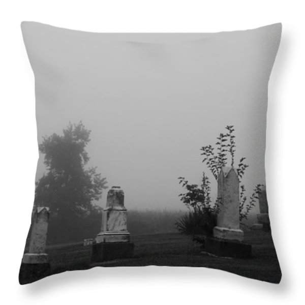 Eerie Throw Pillow by Dan Sproul