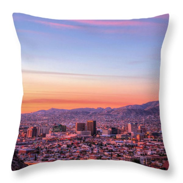 El Paso Throw Pillow by JC Findley