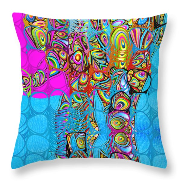 Elefantos - av03-ps01 Throw Pillow by Variance Collections