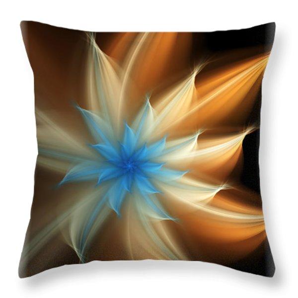 Elegant Throw Pillow by Svetlana Nikolova