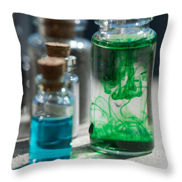 Elixir Throw Pillow by Lisa Knechtel