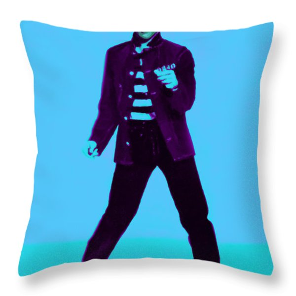 Elvis is In The House 20130215p148 Throw Pillow by Wingsdomain Art and Photography