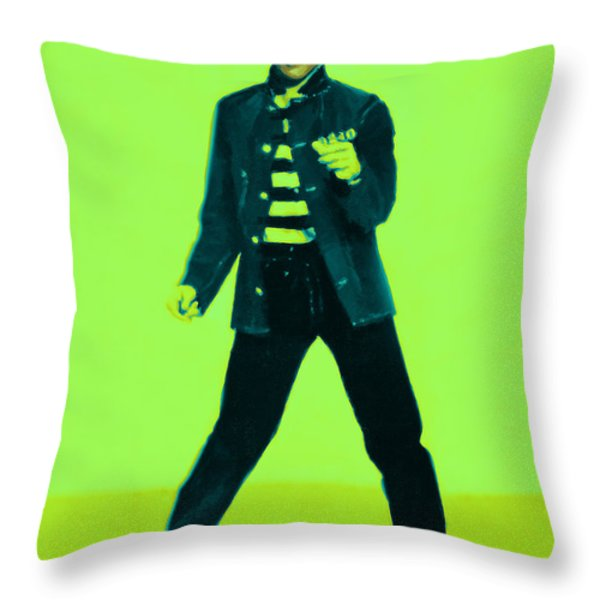 Elvis is In The House 20130215p42 Throw Pillow by Wingsdomain Art and Photography